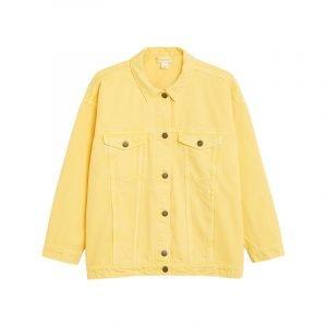 Gelbe Jeansjacke von Monki