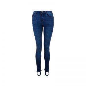 Stehhose aus Jeans