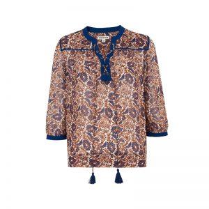 Bluse mit Blumen-Print von Whistles