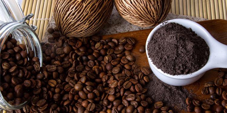 Peelings mit Kaffee