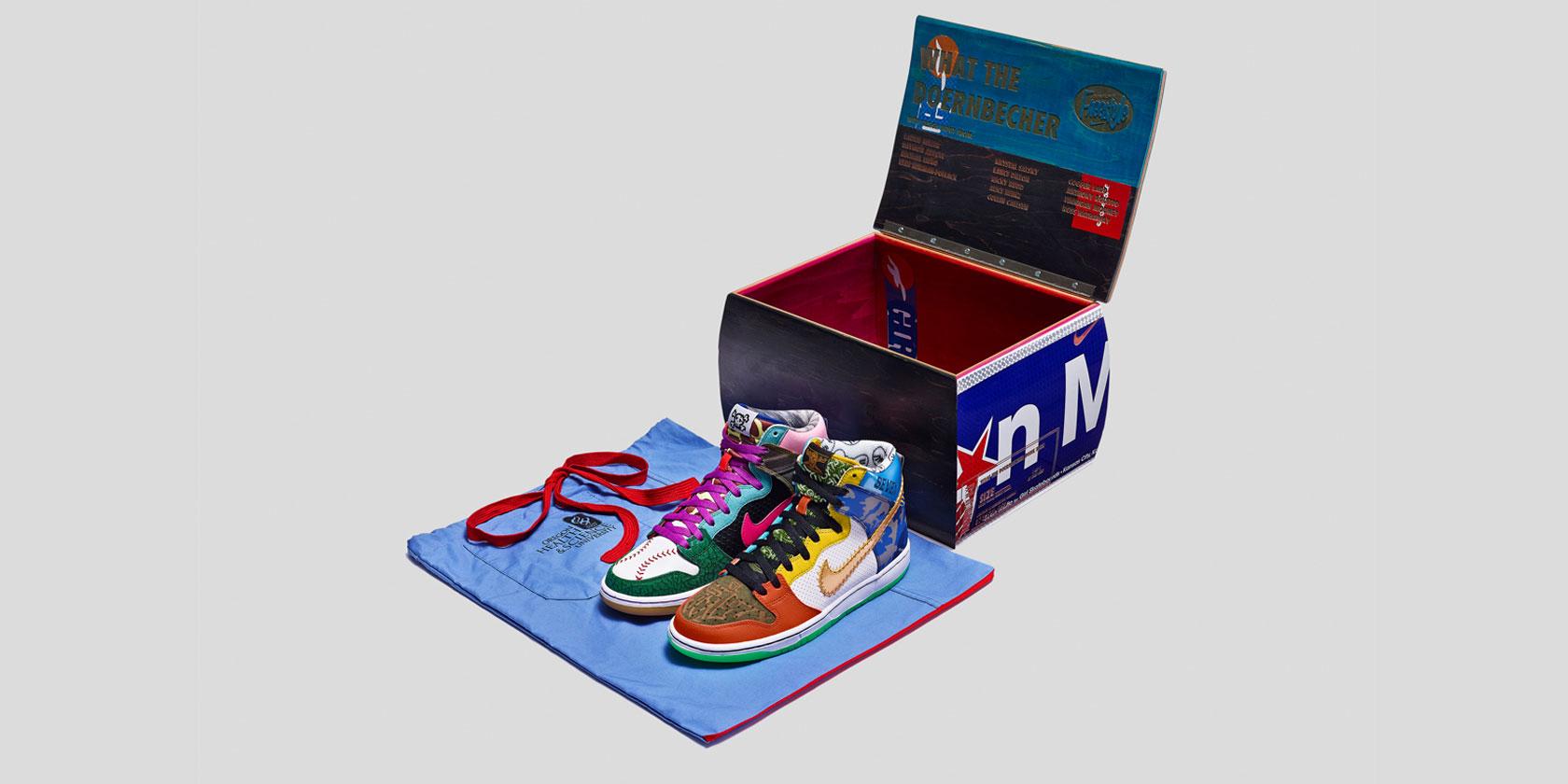 What the Doernbecher Nike Dunk High SB
