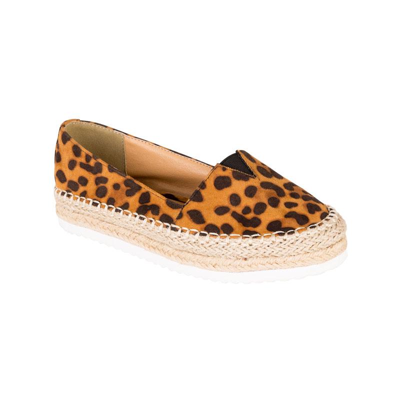 F&F Leopard Espadrille
