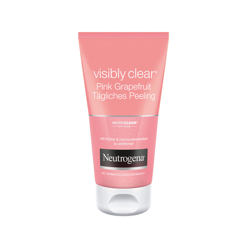 Neutrogena® visibly clear® Pink Grapefruit Tägliches Peeling