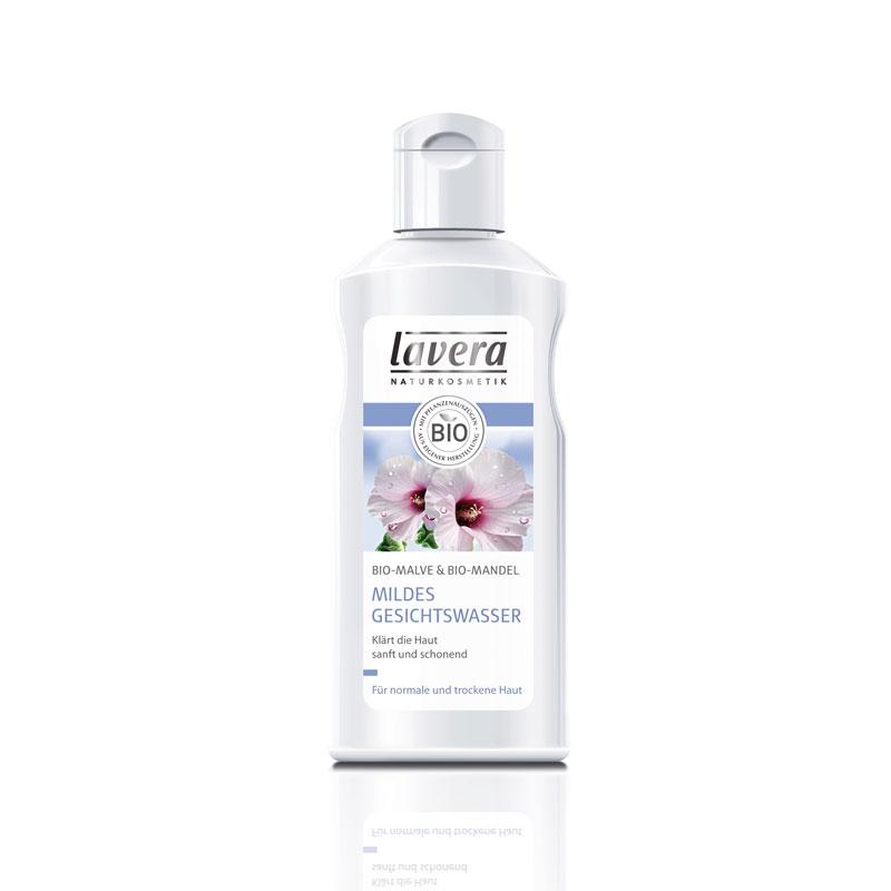 lavera Mildes Gesichtswasser mit Bio-Malve & Bio-Mandel