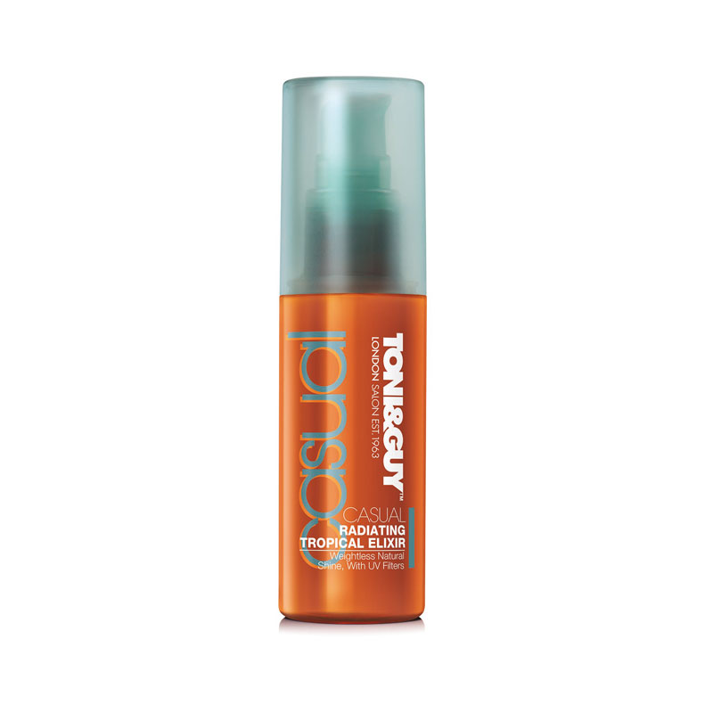 "Radiating Tropical Elixir Serum"" von ©Toni & Guy, 50 ml ca. 13 Euro"