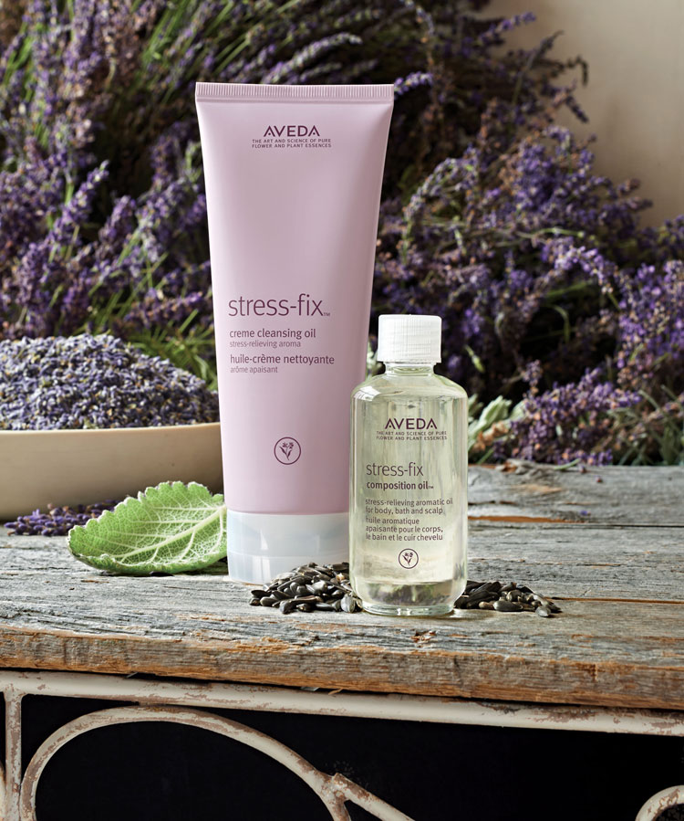 Stress-Fix Creme Cleansing Oil & Stress-Fix Composition Oil