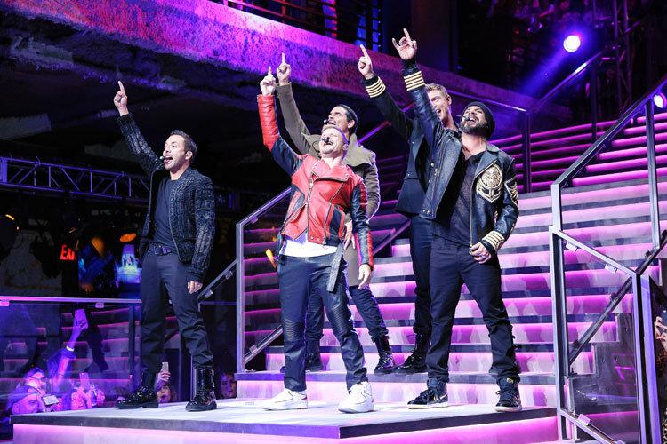 © BFA, Performance der Backstreet Boys beim Launch der Balmain x H&M Kollektion am 20. Oktober 2015
