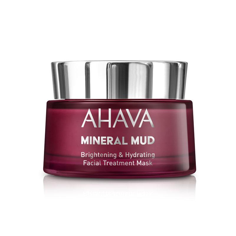 produktabbildung der ahava mineral mud brightening hydrating gesichtsmaske