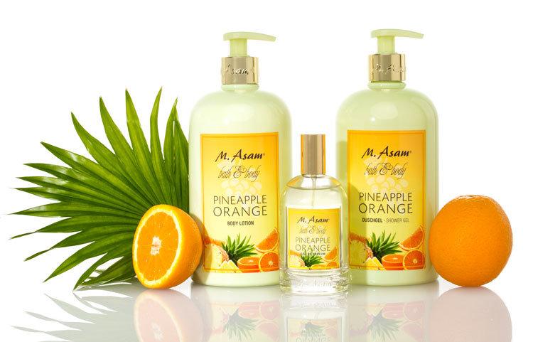 @M.Asam Pineapple Orange Set