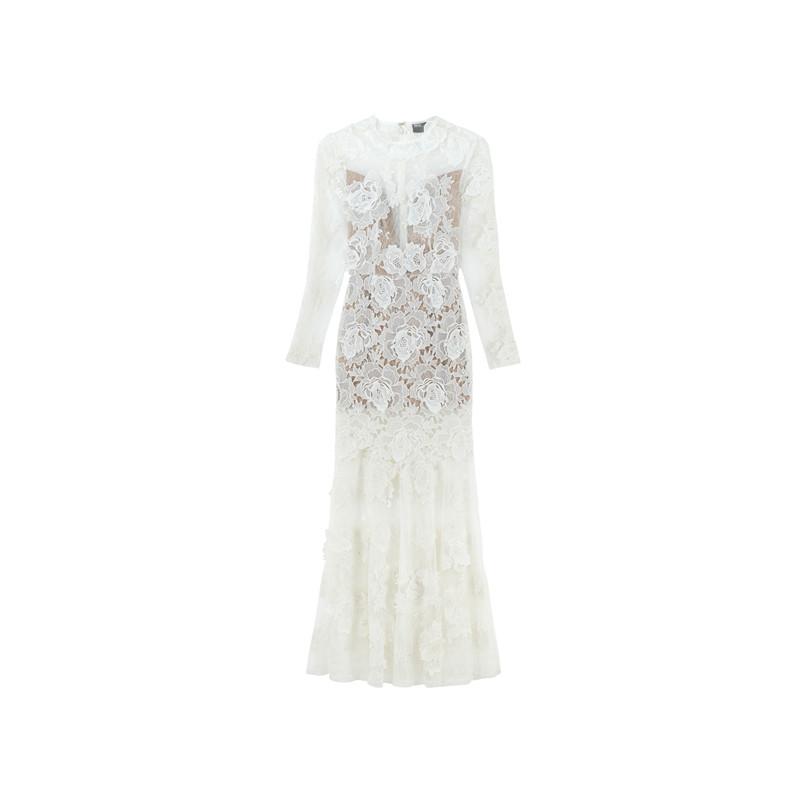 Vintage Brautkleid mit Spitze von ASOS