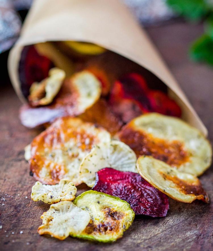 Gesunde Chips aus Gemüse