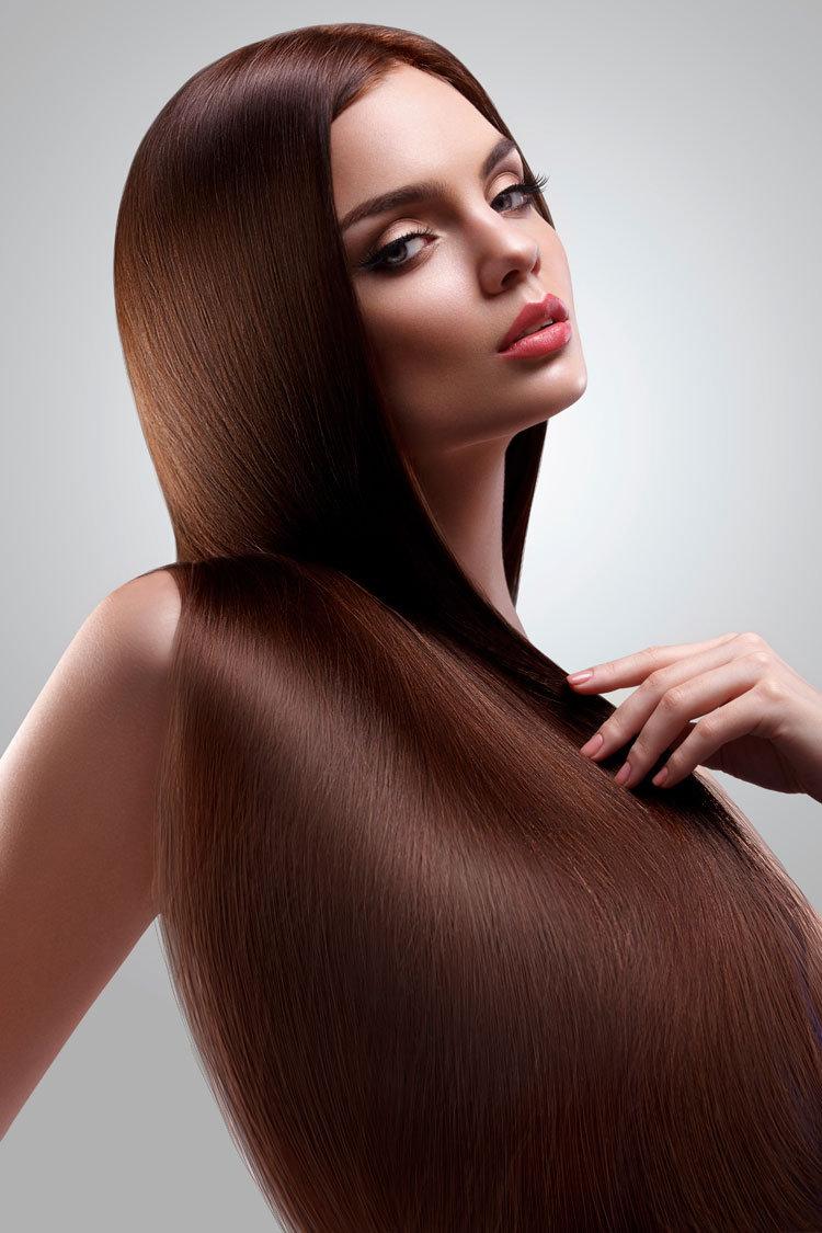 Die Hauttrockenheit des Haares des Grundes und die Behandlung bei den Frauen