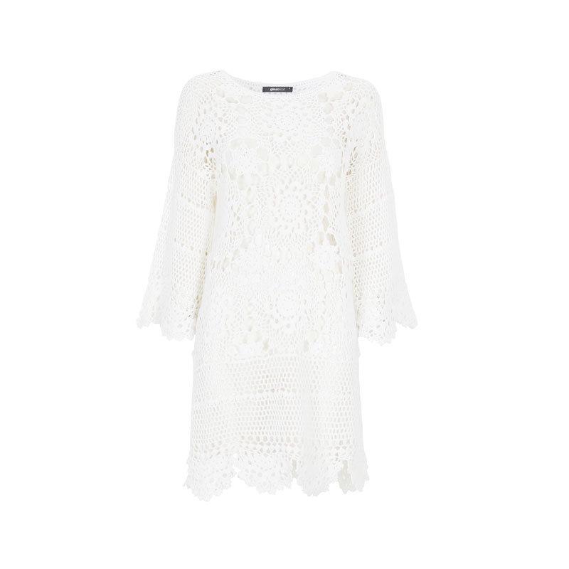 Weißes Kleid von Gina Tricot