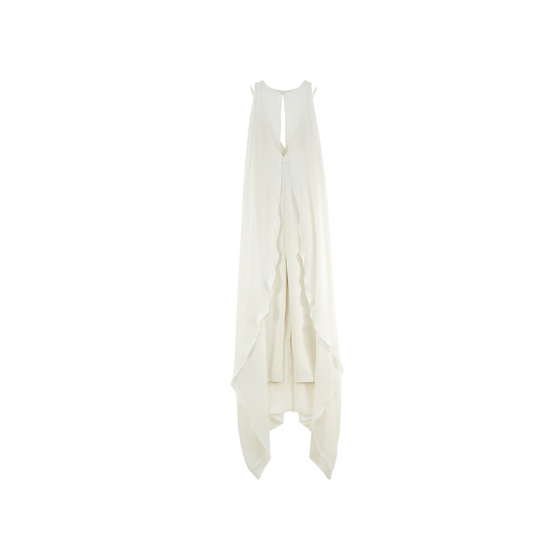 ASOS Bridal Collection Jumpsuit in weiß
