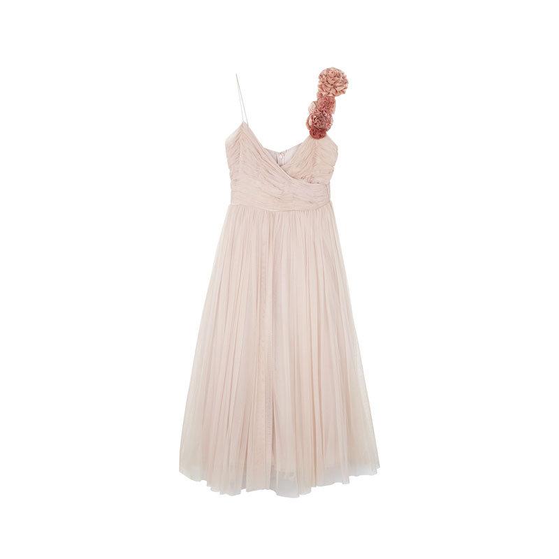 Chiffon-Kleid von Asos