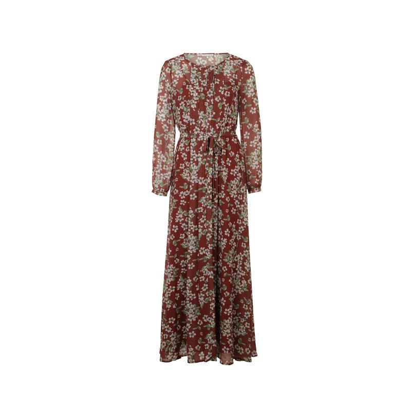 Rotes Kleid mit Blumen von mint&berry