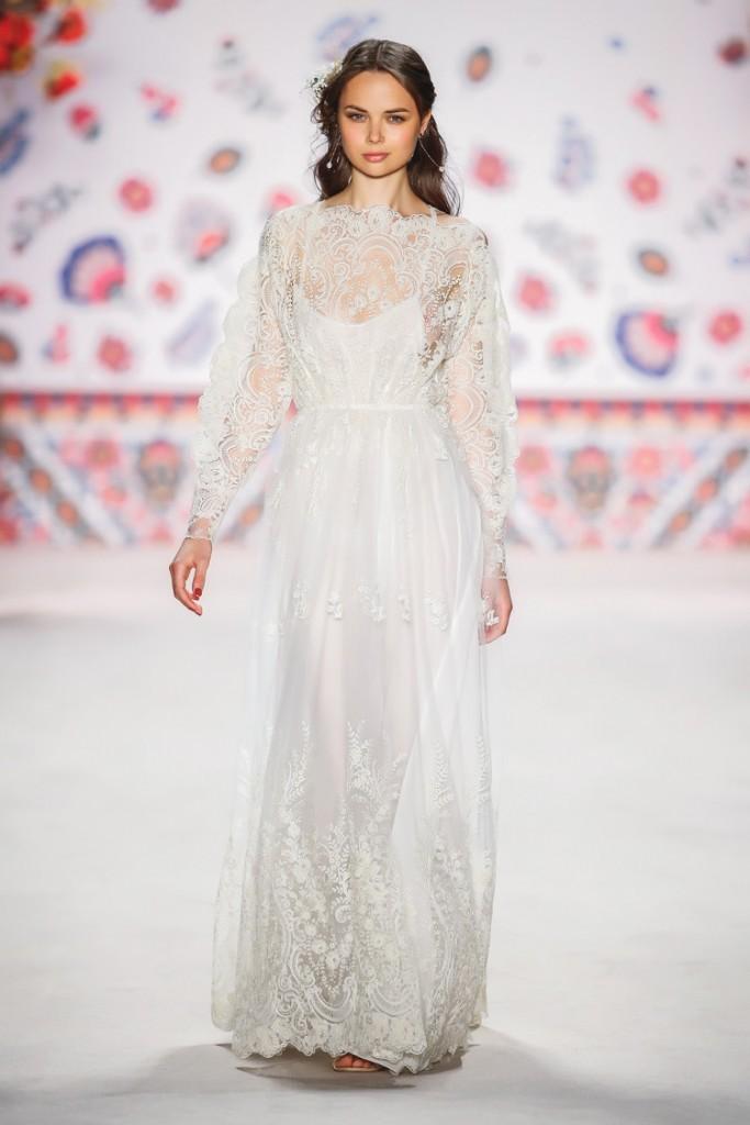 Brautkleid Bohemian Stil von Lena Hoschek
