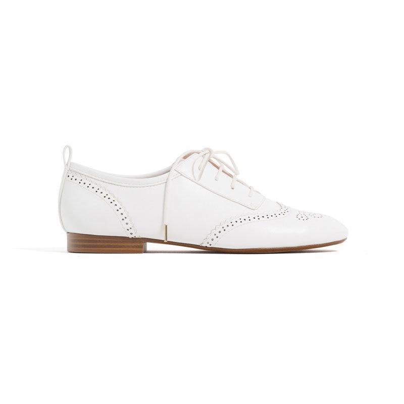 Weiße Loafer von Zara