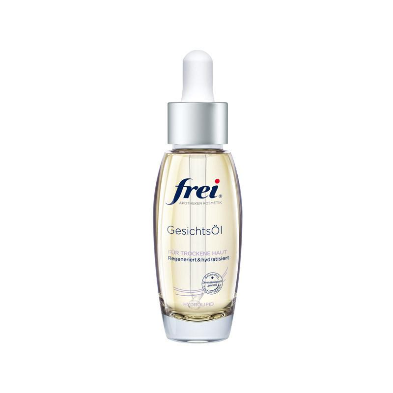 Hautöl für feuchtigkeitsarme Haut von frei