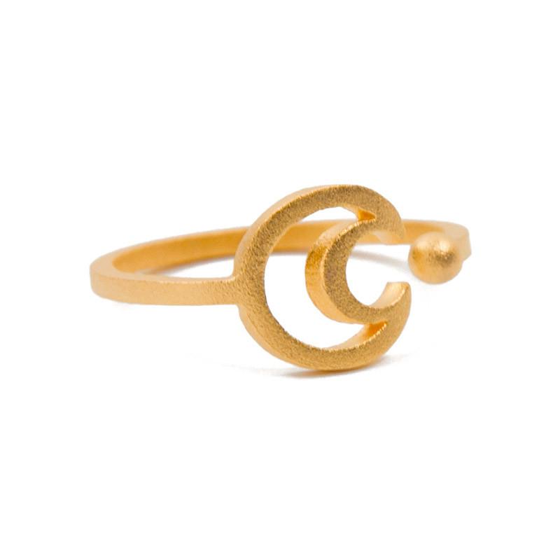 Halbmond-Ring von Masha Sedgwick
