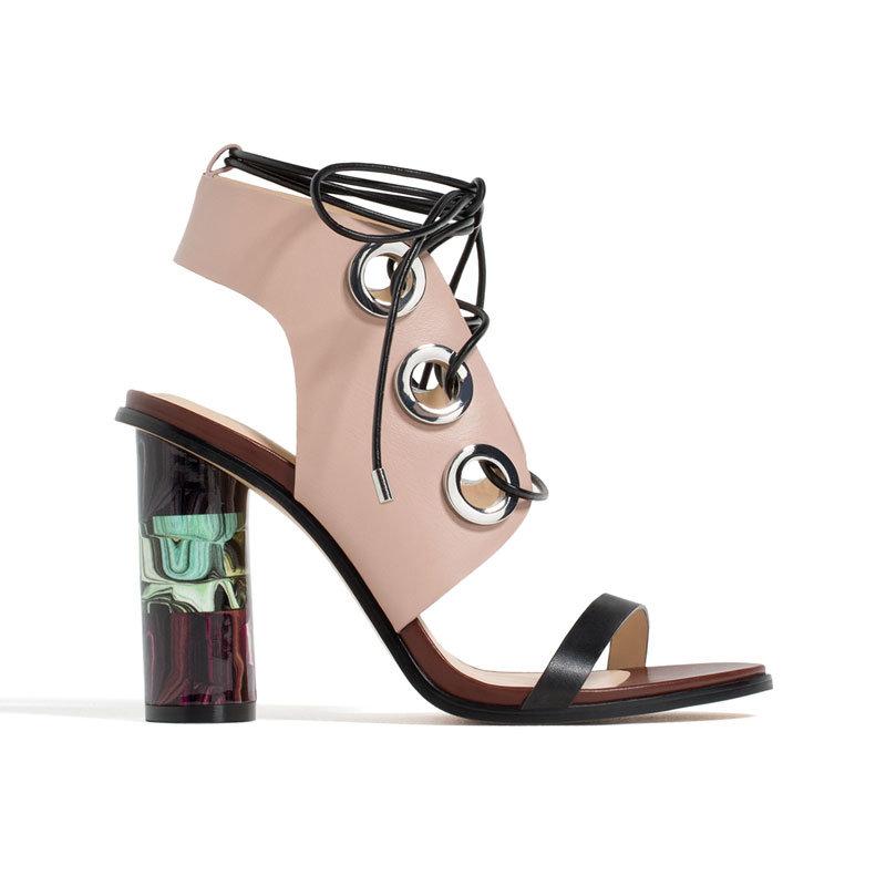 Sandale in Rose Quartz von Zara