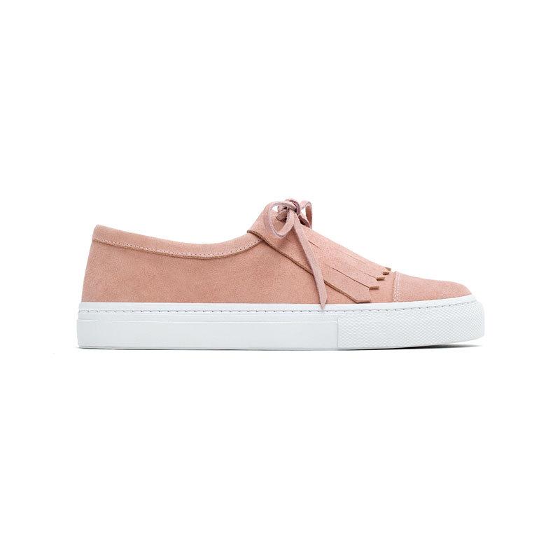 Rosa Sneaker von Zara