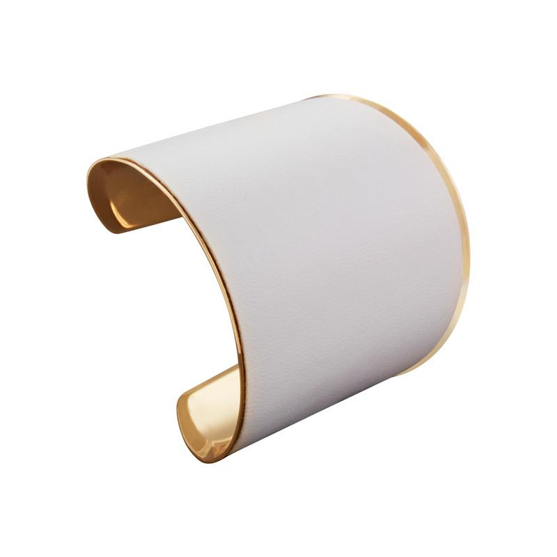Armreif Weiß-Gold