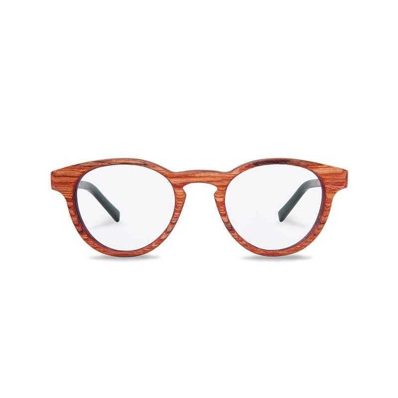 Brille mit Holzrahmen