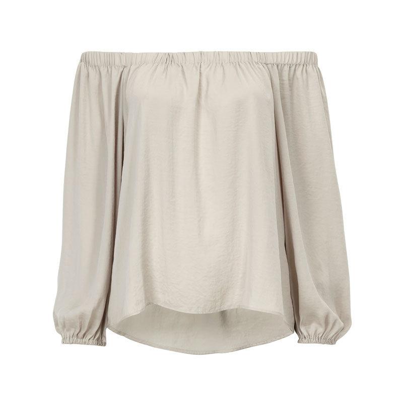 Schulterfreie Bluse von Gina Tricot