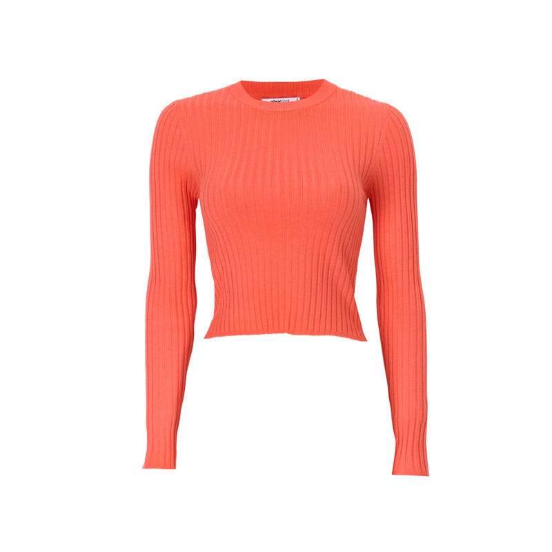 Eng anliegendes Cropped-Shirt