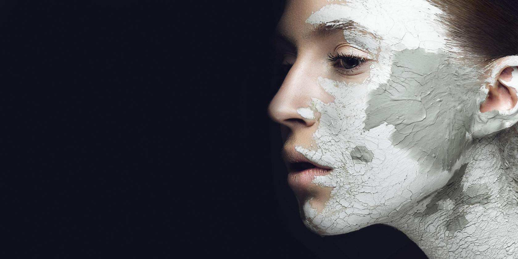 Heilerde-Masken