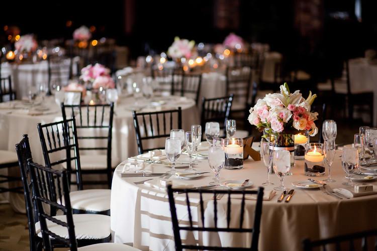 Location und Feier für die Hochzeit