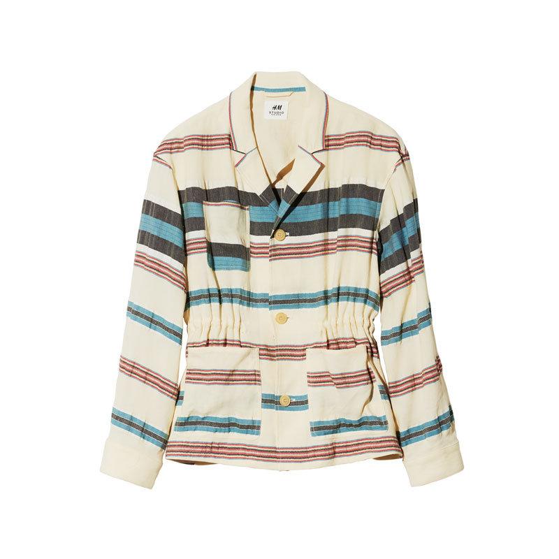 Jacke mit Streifen von H&M