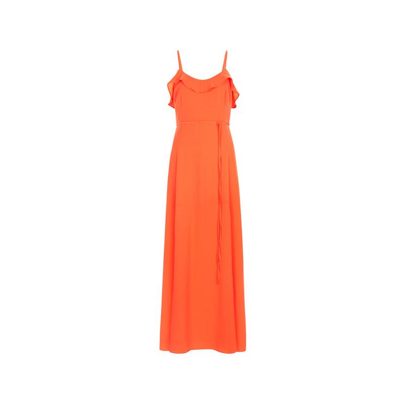 Oranges Maxi-Kleid