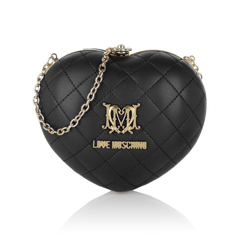 Schwarze Mini-Tasche von Moschino