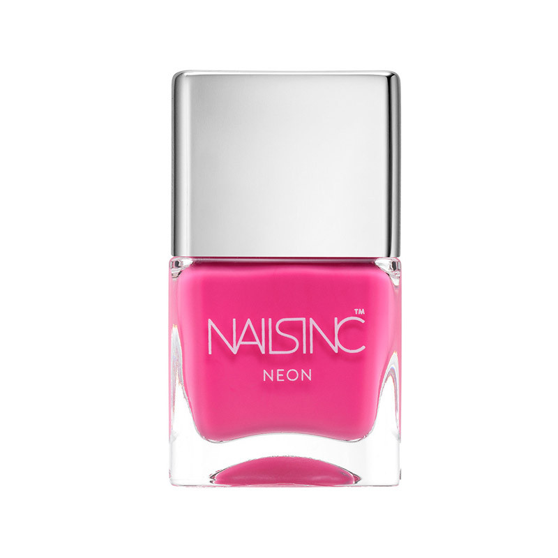 Neon Pink Nagellack