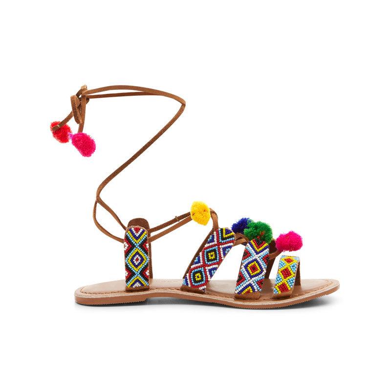 Sandale mit Bommeln von New Look