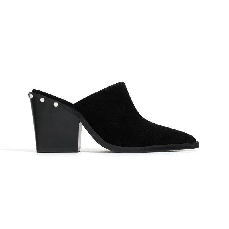 Schwarze Mules von Zara