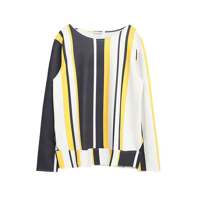 Shirt mit Streifen von Zara