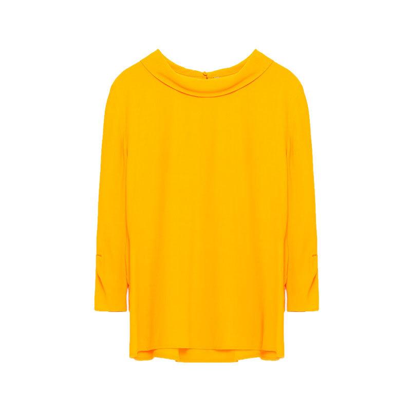 Gelbes Shirt von ZARA
