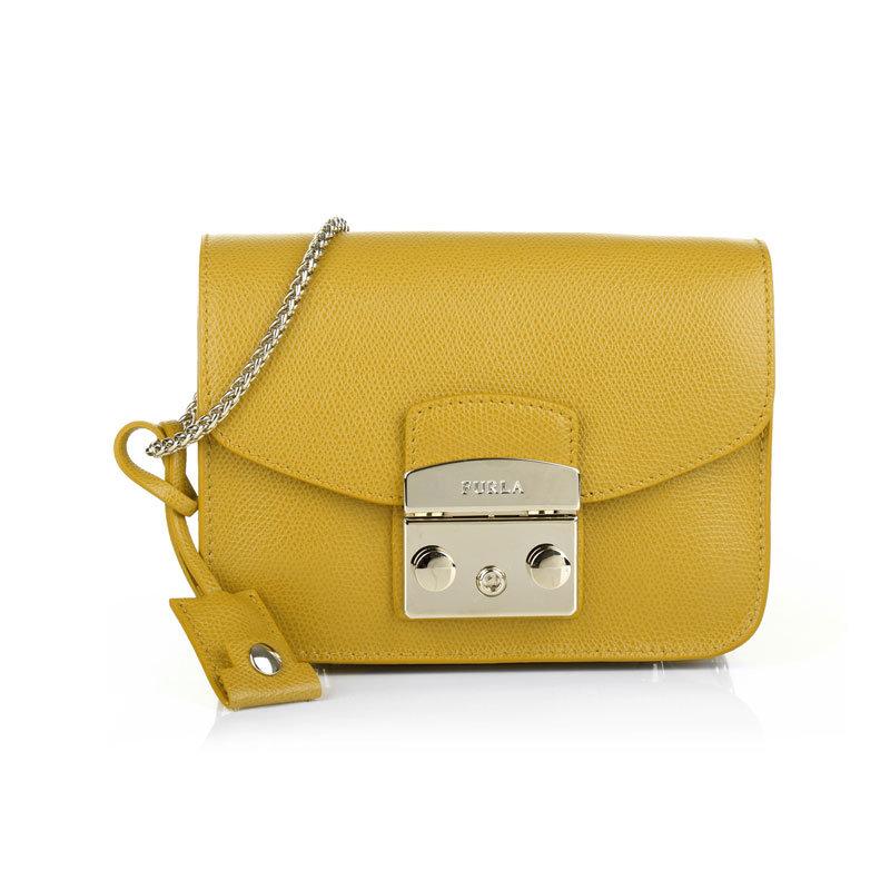 Gelbe Tasche von Furla