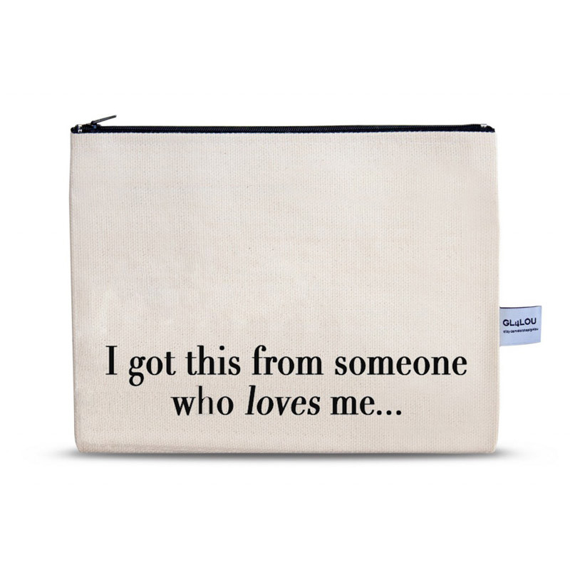 Cosmetic Bag mit Spruch