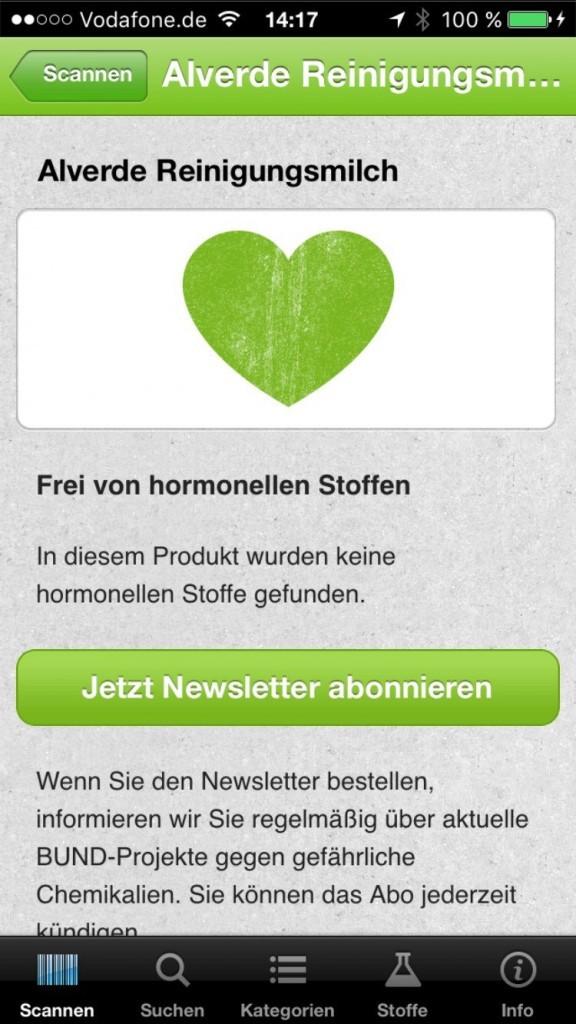 ToxFox Hormon-Check