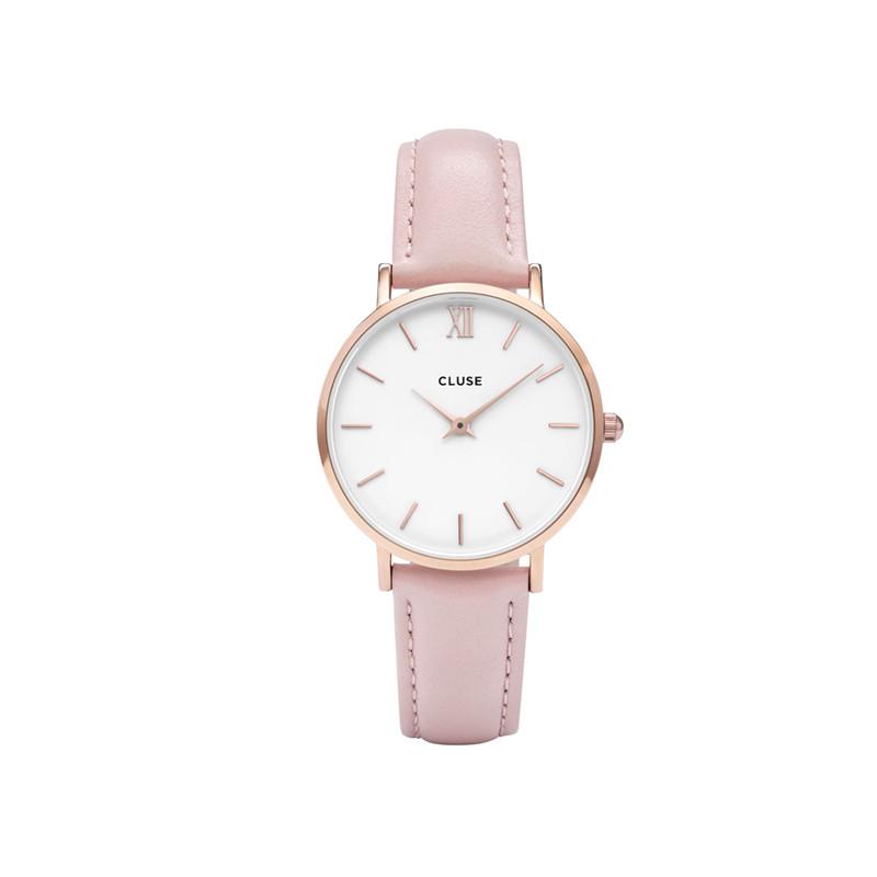 Uhr von Cluse in Rosa