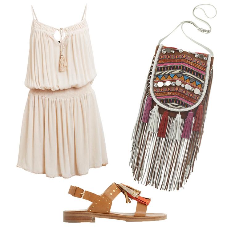 Festival Outfit mit Quasten