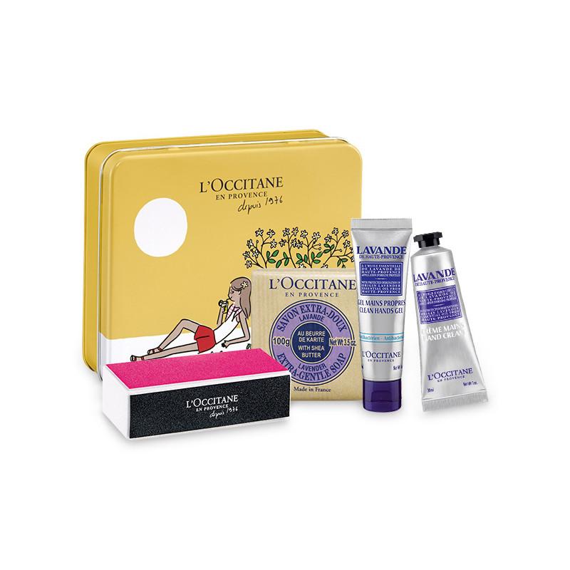 Handpflege-Box Lavendel