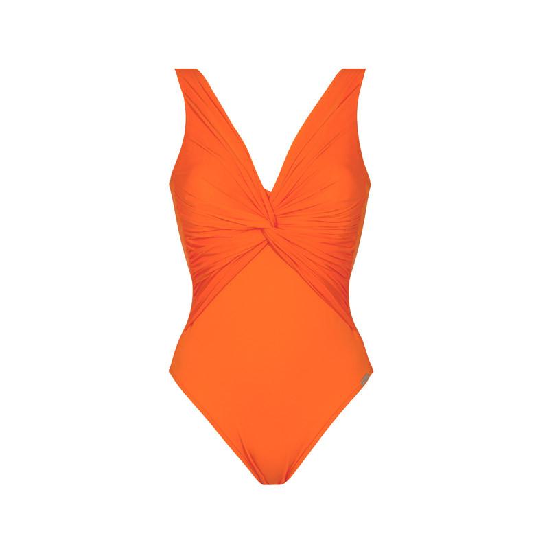 Badeanzug Orange