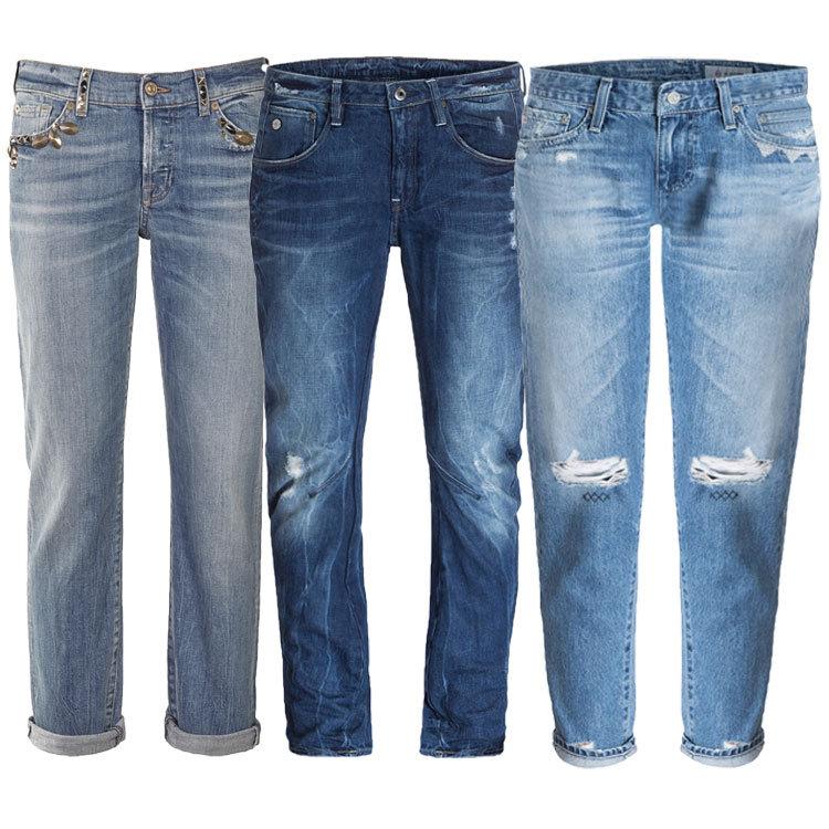 Modelle Boyfriend Jeans