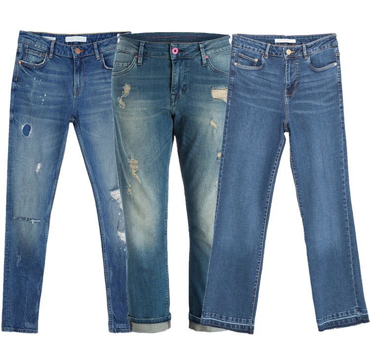 Cropped Jeans Modelle