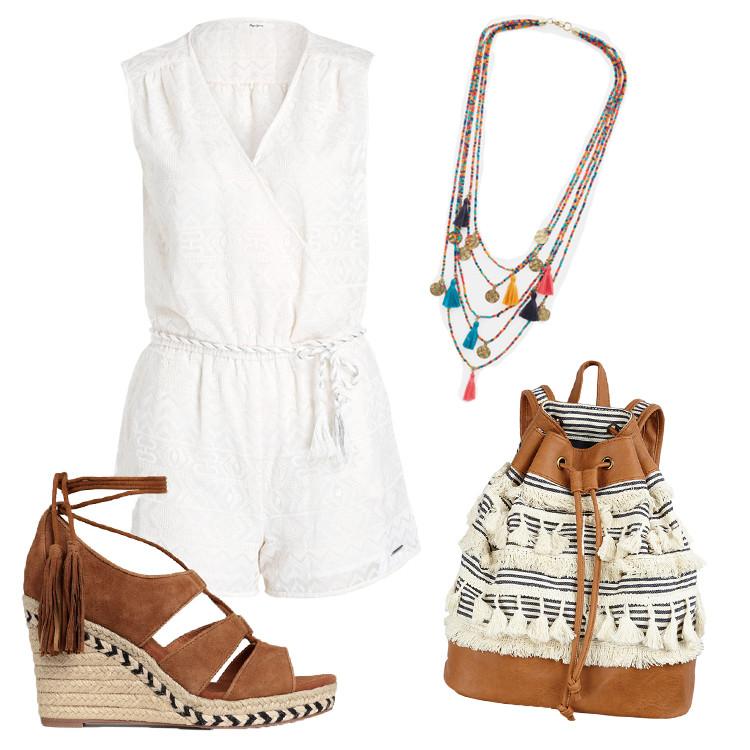 Outfit mit Quasten